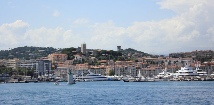Port de Cannes, France