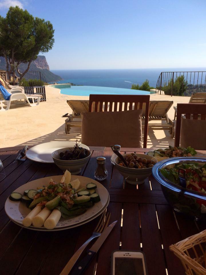 Villa cassis avec piscine sur vue magnifique mer et massif - Camping cassis avec piscine ...